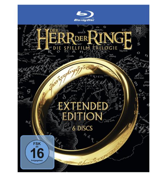 Der Herr der Ringe Extended Editions Trilogie auf Blu ray online kaufen  SATURN 2020 03 16 10 14