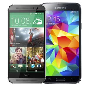 HTC-One-M8-vs-Samsung-Galaxy-S5