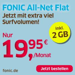fonic allnet flat mit 2gb o2 netz mytopdeals. Black Bedroom Furniture Sets. Home Design Ideas