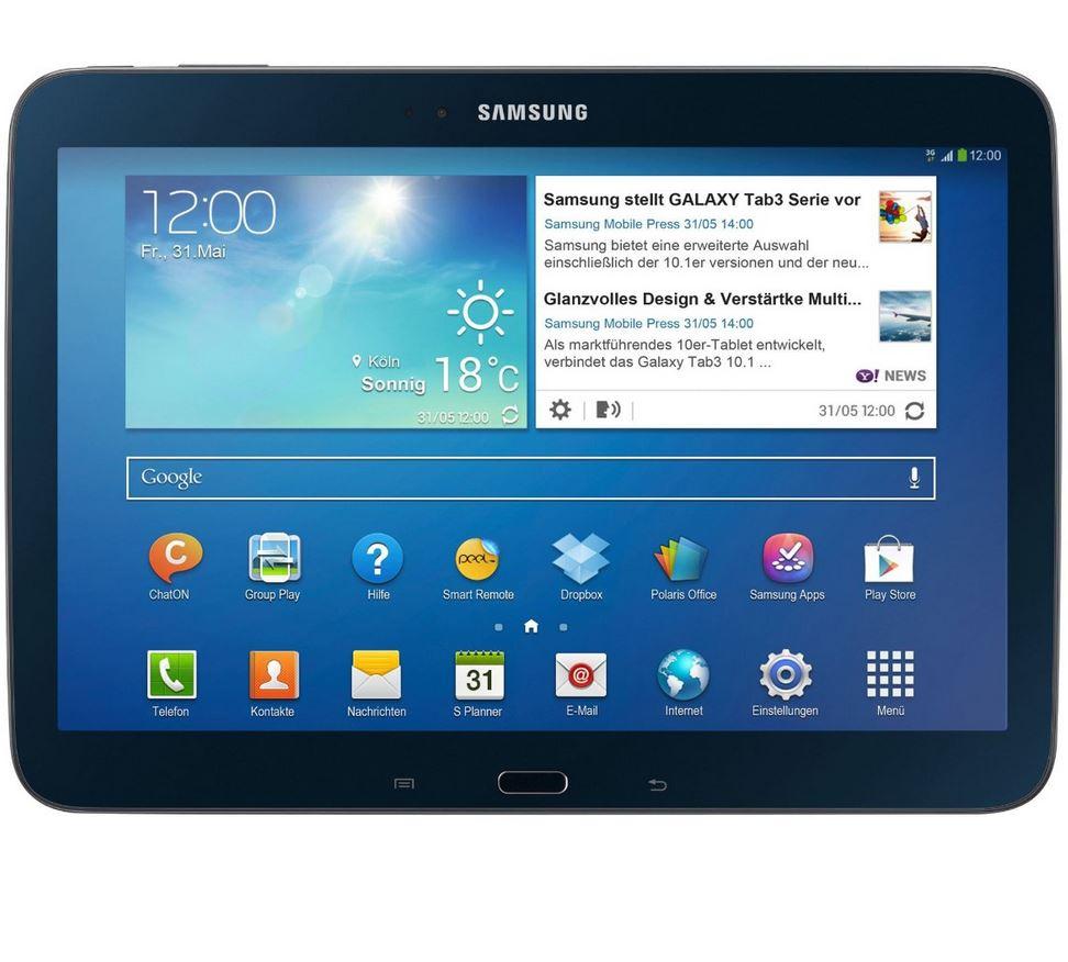 SAMSUNG Galaxy Tab 3 10.1 WiFi 16GB GT-P5210 schwarz