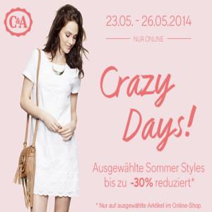 c und a crazy days