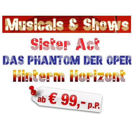 ab in den urlaub musical 99 euro