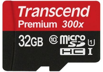 transcend microsd 32fv