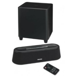 Toshiba Mini Soundbar mit Subwoofer