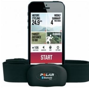 Polar H7 Set M-XXL Bluetooth Smart Brustgurt für Smartphones