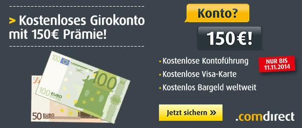 comdirect-150-euro-girokonto