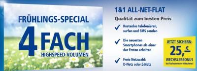 1&1 ALL-NET-FLAT Qualität zum besten Preis