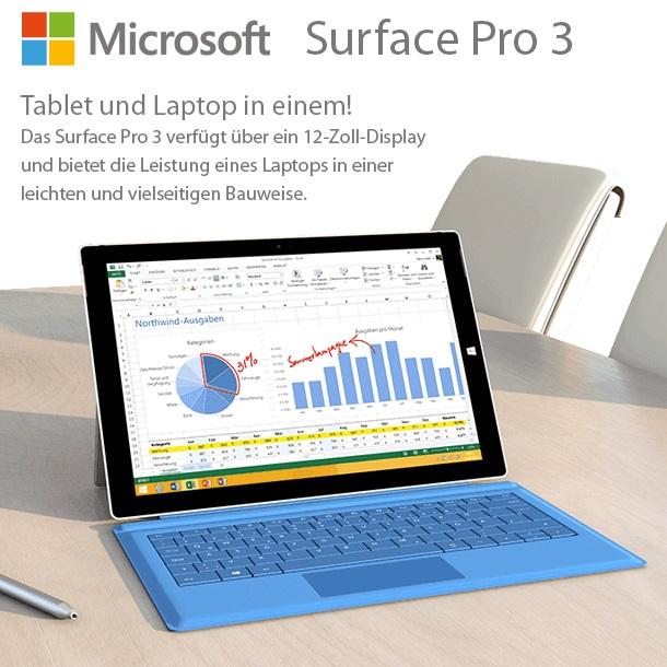 Microsoft Surface Pro 3 - 256GB