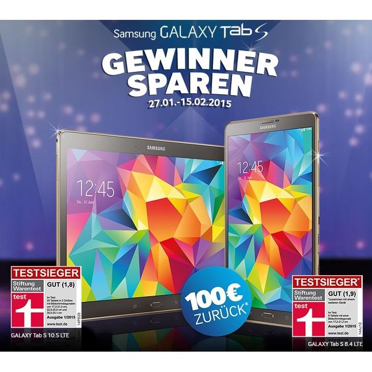 Samsung-Aktion galaxy tab s