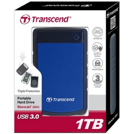 Transcend TS1TSJ25H3B StoreJet