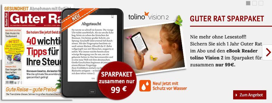 tolino vision 2