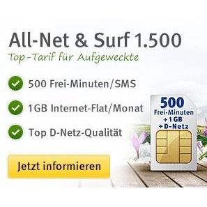 Allnet & Surf 1.500