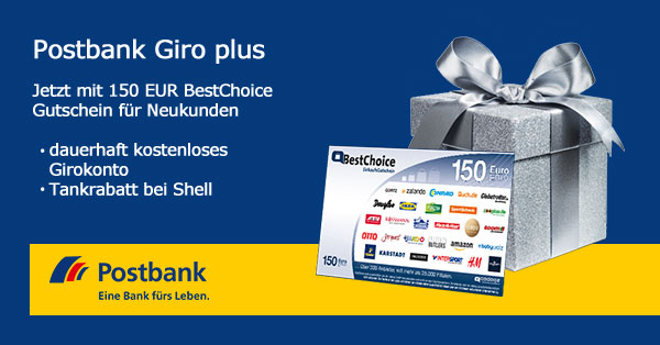 postbank-150-euro-best-choice