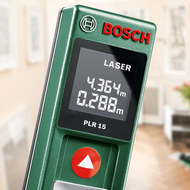 Bosch Laser-Entfernungsmesser PLR 15