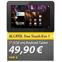 Alcatel One Touch EVO7, Tablet, Android 4.0.3