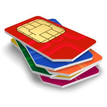 color SIM cards