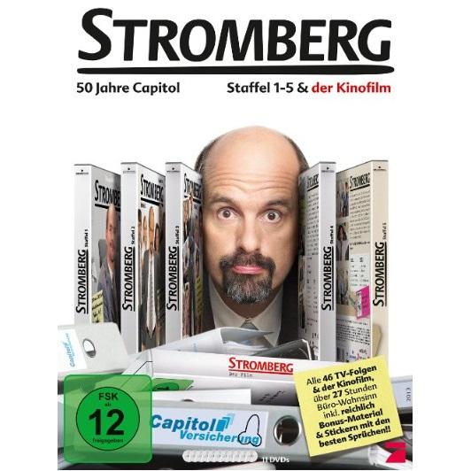 Stromberg - Staffel 1-5 + Film - 50 Jahre Capitol-Versicherung [11 DVDs]