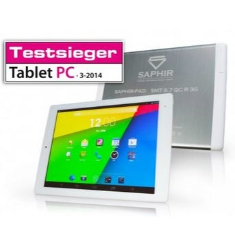 Tablet PC SMT 9,7 QC Retina 3G + Stand