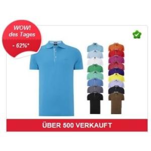 BOSS Poloshirt aus reiner Pima Baumwolle Herren T-Shirt NEU