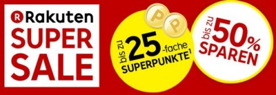 Super Deals - 25-fache Superpunkte¹