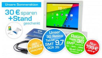 Saphir Pad SMT 9.7 3G (9,7'' Retina IPS, 2.048 x 1.536,