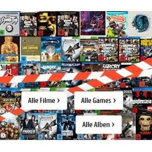 Abverkauf: Games, Filme, Musik