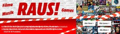 Abverkauf: Games, Filme & Musik