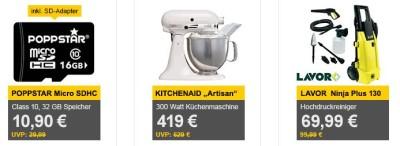 Kitchenaid Artisan, Küchenmaschine, 300 W, weiß für 419€