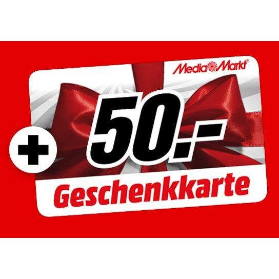 Produkt im Wert von mindestens 300€ bei Media Markt kaufen und 50€ Geschenkkarte zusätzlich erhalten