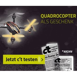 6x c't + Mini Quadrocopter