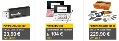 Nintendo 3DS Konsolen Weiß für 104€