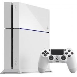 Sony PlayStation 4 500GB weiß inkl. Dual Shock Controller