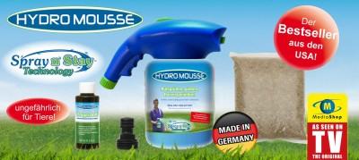 Hydro Mousse Sprührasen