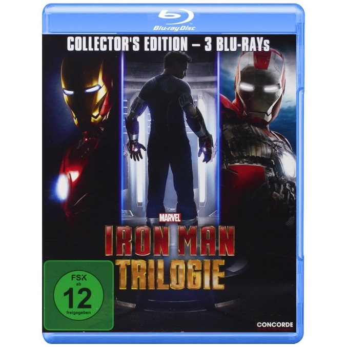 Iron Man Trilogie (Collector's Edition) [Blu-ray]