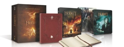 Der-Hobbit---Trilogie-(Steel-Edition-inkl.-Bilbos-Journal)---(Blu-ray)