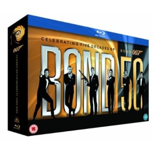 James Bond - 22 Film Collection [Blu-ray] [1962]