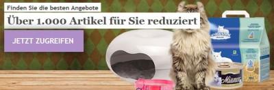 Bis zu 22% Rabatt bei Katzenland und Hundeland