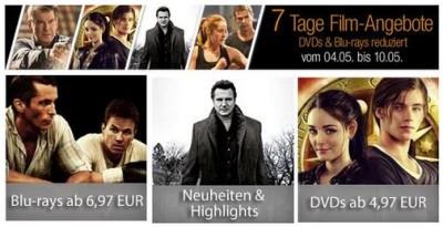 Box-Sets reduziert bei den 7 Tage Amazon Film Angeboten