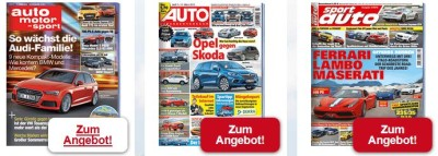 Div. Probe-Abos – Sport & Auto