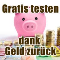 gratis testen geld zurueck