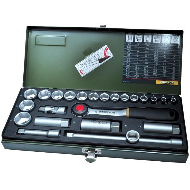 """24tlg. Steckschlüsselsatz 10mm (3/8"""")"""