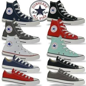 CONVERSE-All-Star-High-All-Star-Ox-Chucks-in-coolen-Farben-Gr27-35