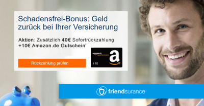 friendsurance-schadensfrei-gutschein-bonus-deal