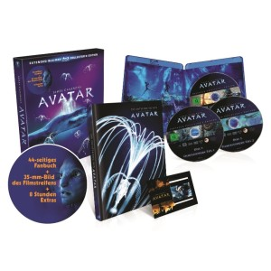 Avatar-–-Extended-Collector´s-Edition -3-Blu-rays-mit-Fanbuch---(Blu-ray)