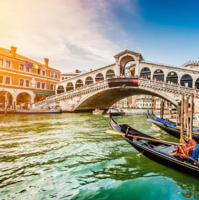 Flugreise Venedig