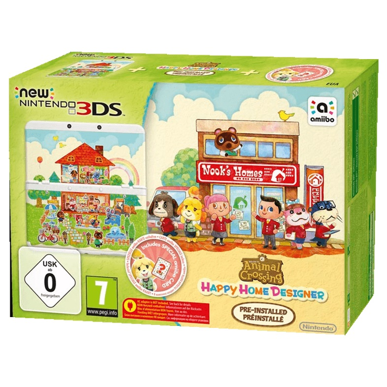 NINTENDO-New-Nintendo-3DS----Animal-Crossing -Happy-Home-Designer-Pack