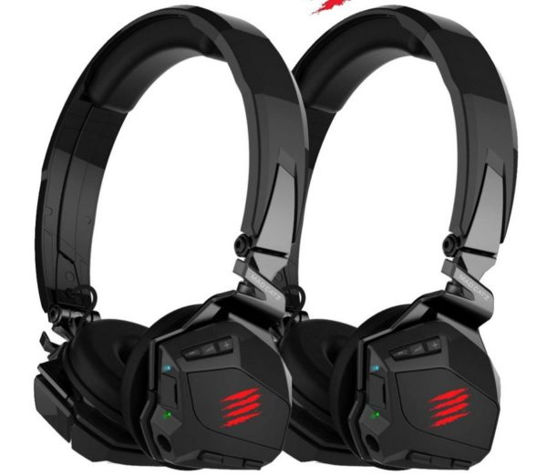 Duo Pack Mad Catz F R E Q M kabelloses Gaming Headset