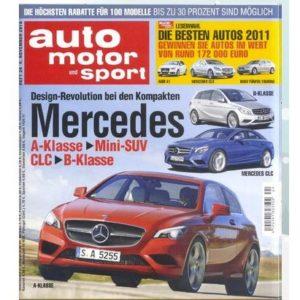 "[Vorbei] 26x ""Auto Motor Sport"""