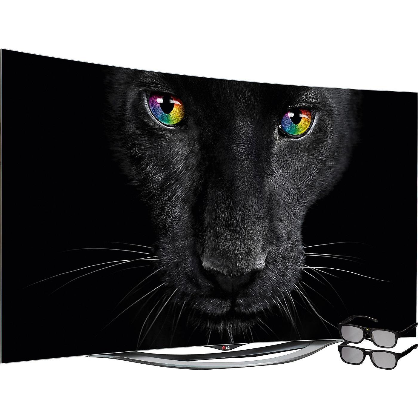 lg 55eg9109 55 oled tv im curved design und inkl 3d mytopdeals. Black Bedroom Furniture Sets. Home Design Ideas