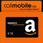 Letzte Chance: Callmobile SIM für 2,95€ + 15€ Amazon.de Gutschein